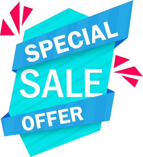 artist sign saying Special Sale Offer